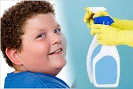 가정용 살균제가 아이의 비만을 야기할 수 있습니다