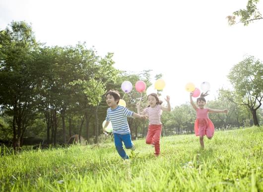 녹지 공간이 아이들의 정신 건강을 보호합니다