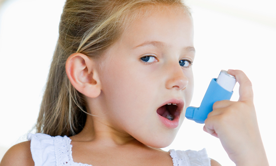 대기오염으로 인한 소아 천식 발병률 증가