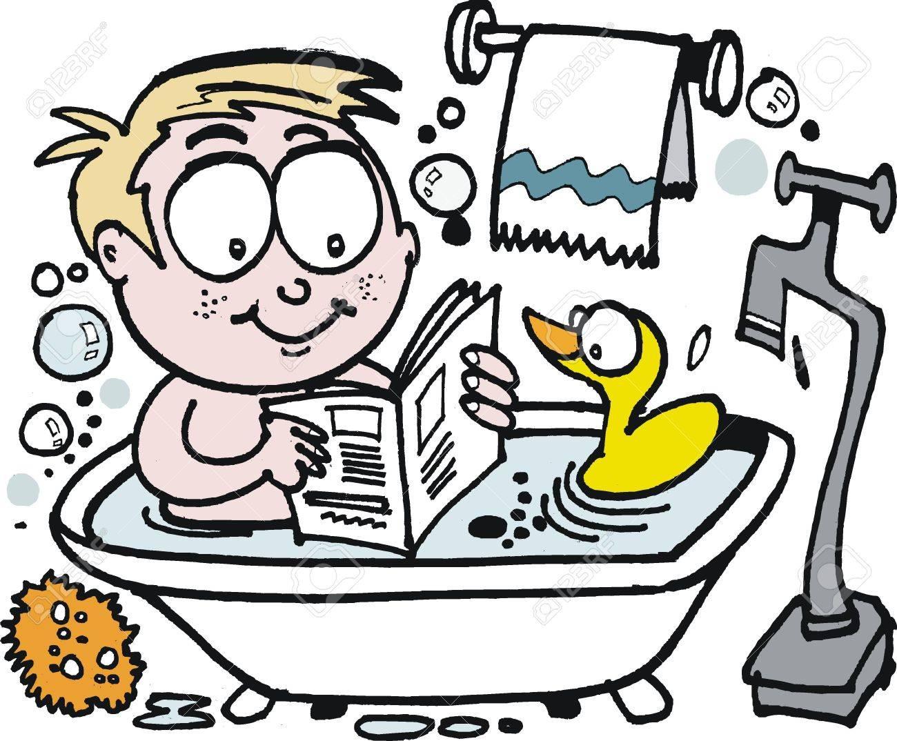 목욕 시간에 책을 읽어주세요