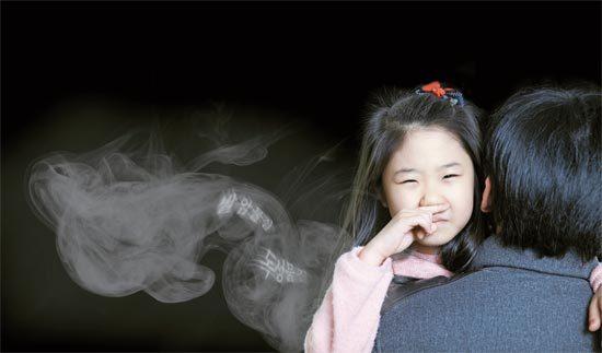 어린이를 향한 무기력한 니코틴 중독 위험
