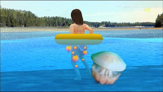 더워진 바다, 해파리에 쏘일가 걱정돼요