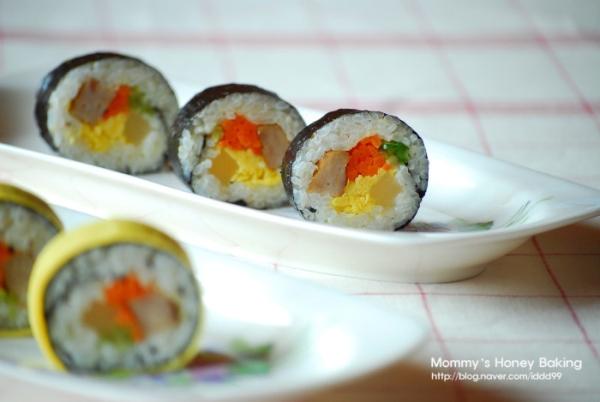 노란옷의 김밥