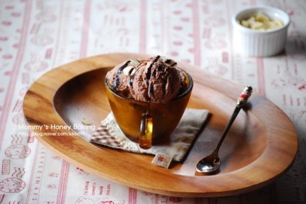 초콜릿호두 아이스크림