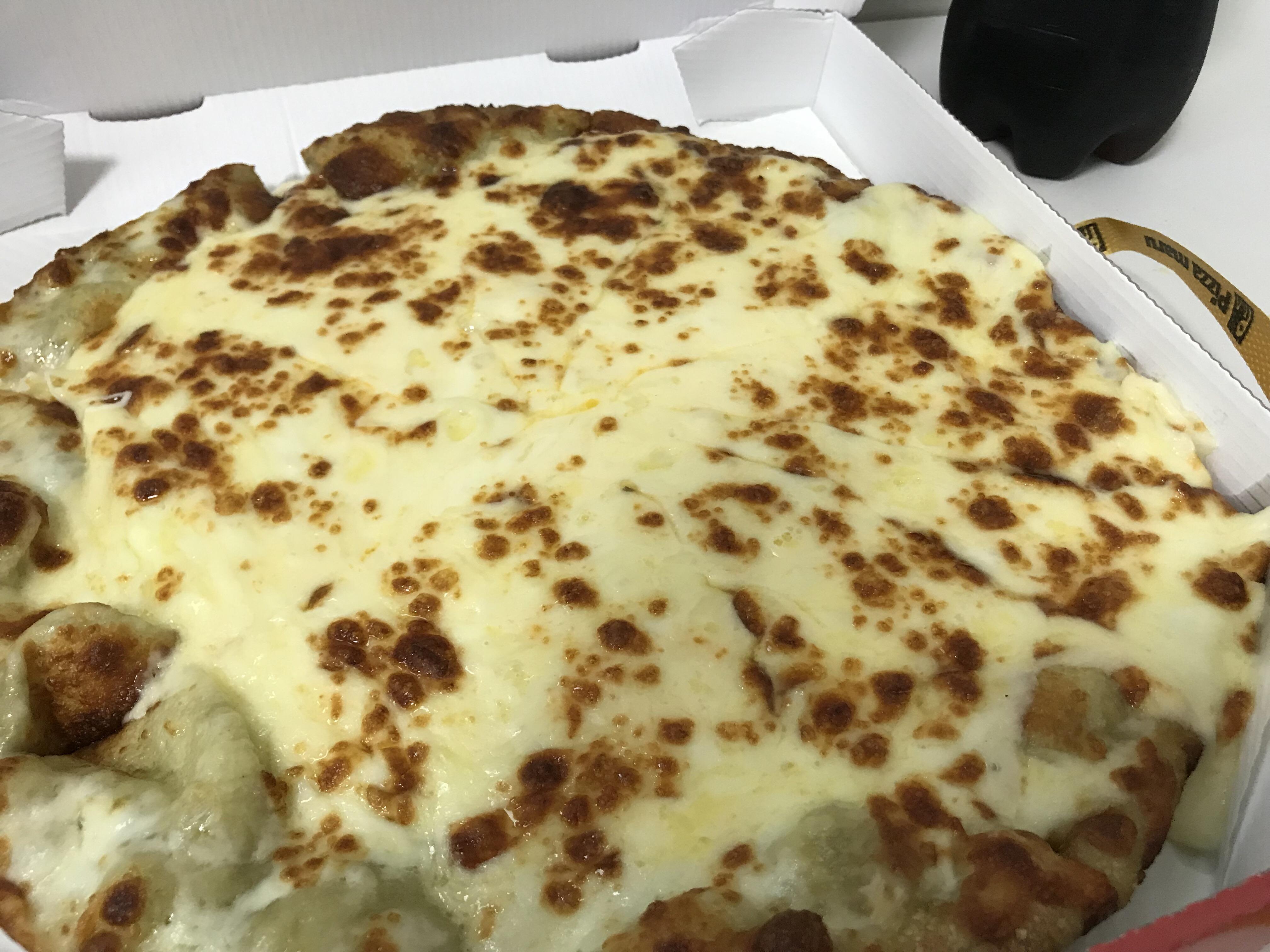 오랜만에 피자 먹었어요 *_*