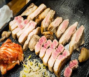 의정부 맛집 돈(豚)곳간, 초벌구이 삼겹살 최고b