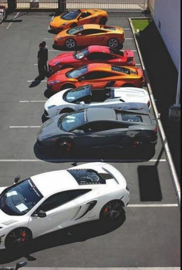 두바이 어느 주차장