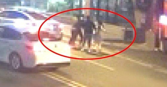 신호위반 해놓고 집단폭행한 순천 운전자들