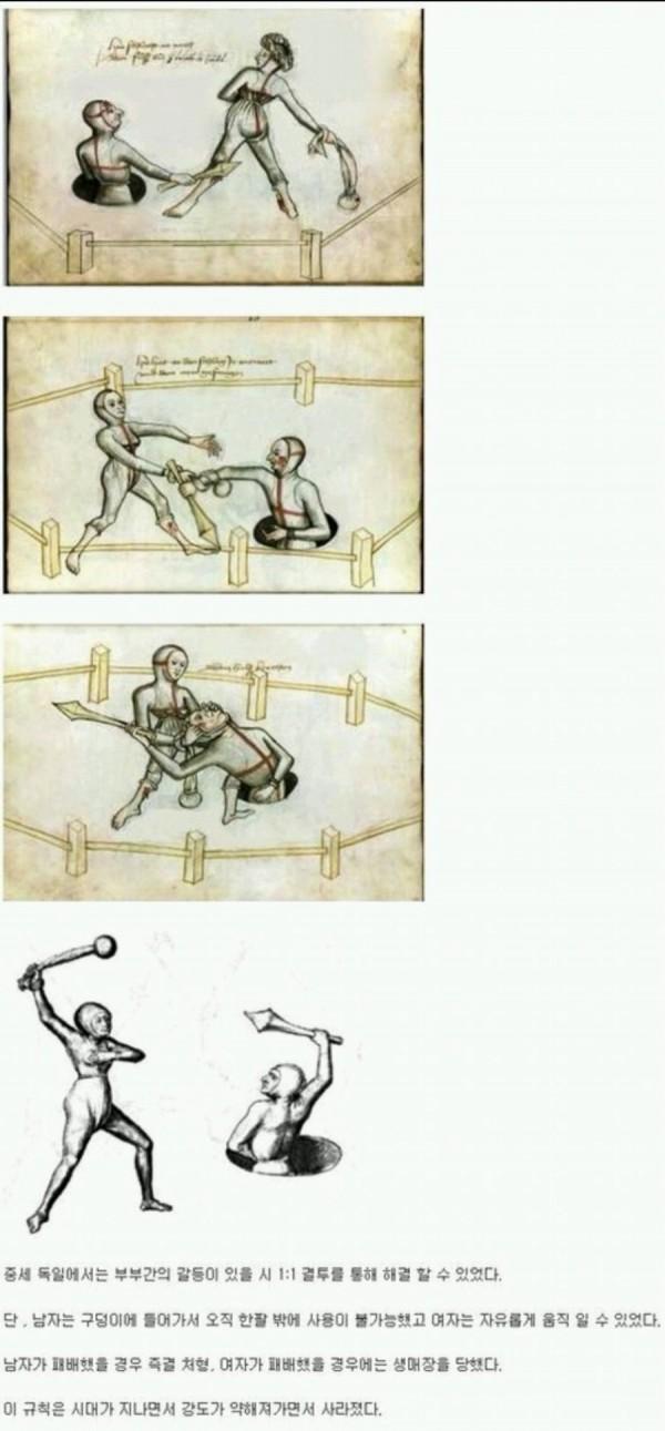 부부싸움(중세식)