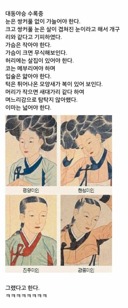 조선시대 미인