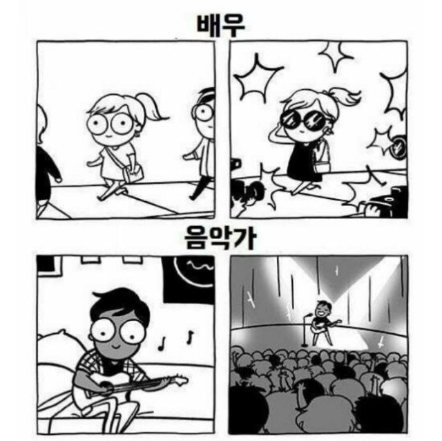 유명해지기 전과 후 비교