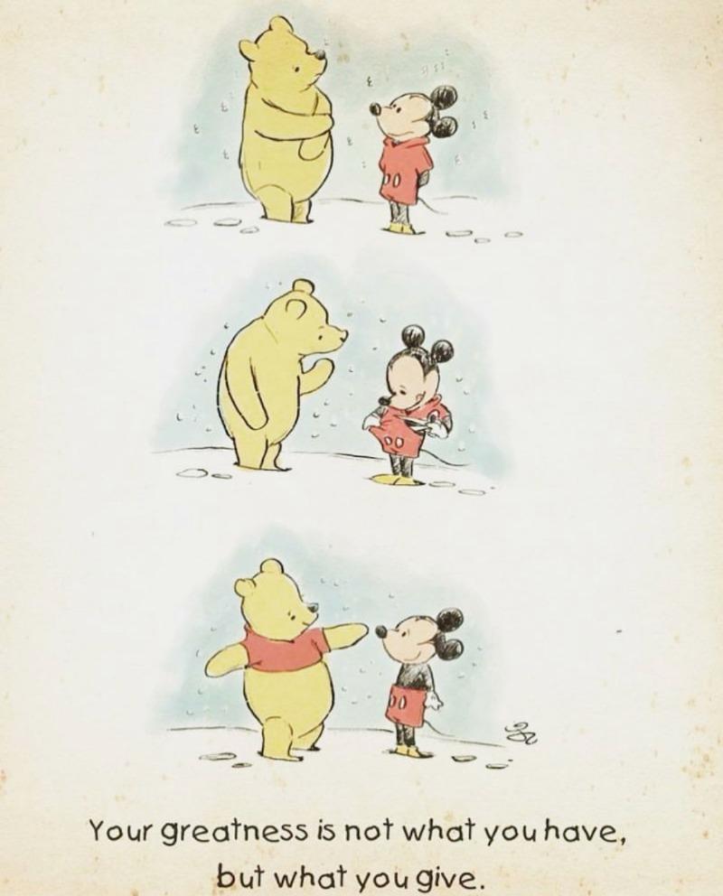 곰돌이 푸와 미키마우스의 비밀