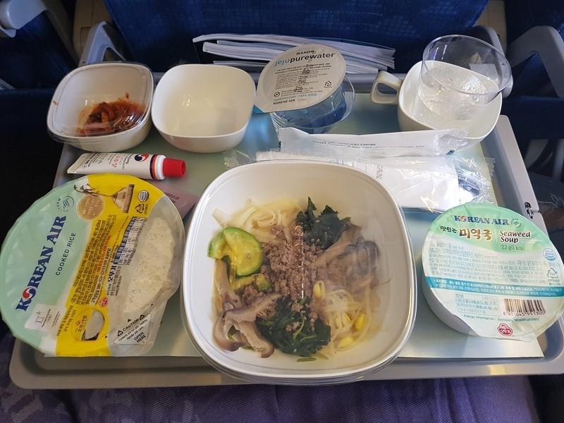 대한항공 비빔밥