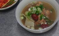 찬바람 솔솔 부는 아침에 돼지갈비탕 한 그릇~~