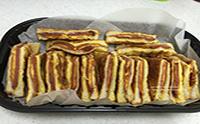 주말간식 몬테크리스토 햄치즈 샌드위치 만들기