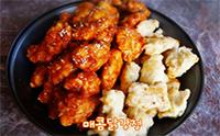매콤 닭강정 레시피 (닭강정/닭강정레시피/닭)