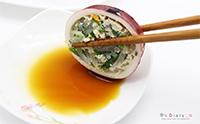번거롭지만 맛나는 오징어순대 만드는 방법!