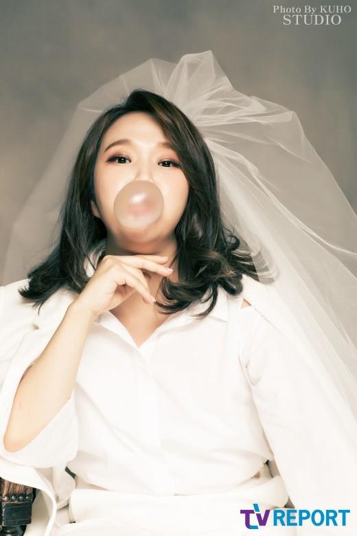 홍현희 웨딩화보 예쁘네요 ^^