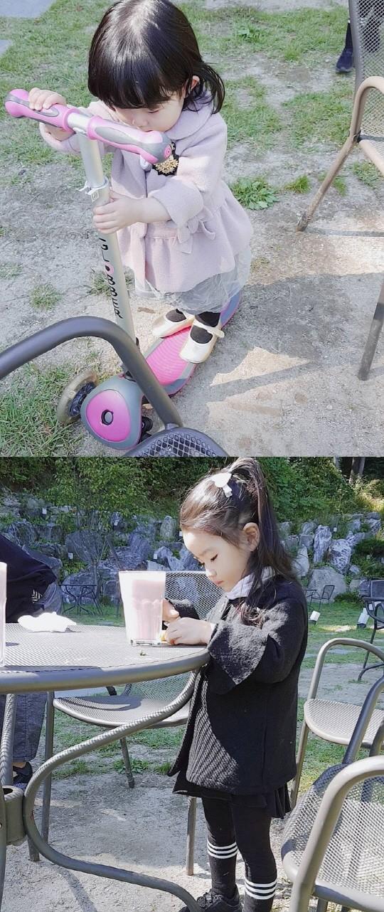 소이현 인교진 딸 하은이 생일