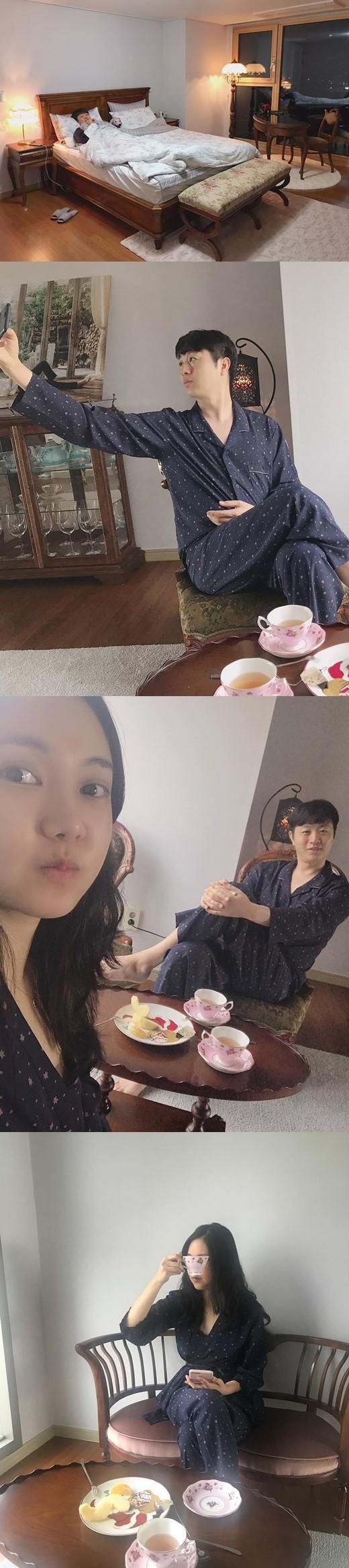 유상무 김연지 신혼집 공개