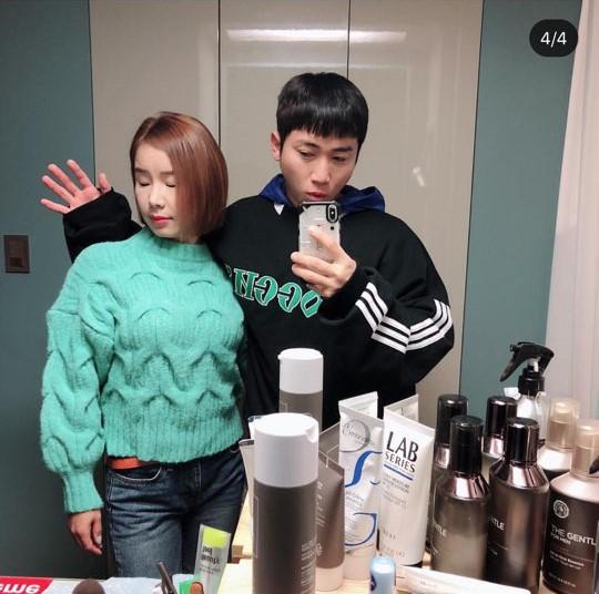 유세윤 부부 셀카 공개