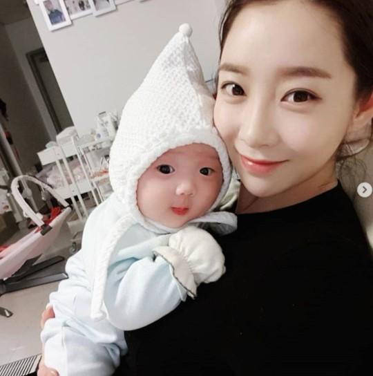안소미 아기랑 근황 천사네요~~