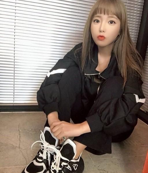 홍진영 인스타 귀여운척? 귀엽네요 ㅎㅎ