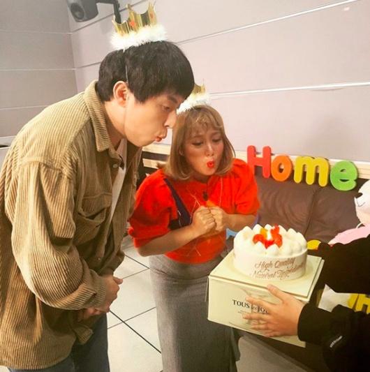 10월생일 기안84와 박나래 생일파티
