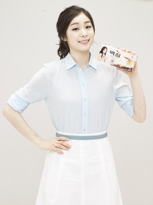 김연아 광고들