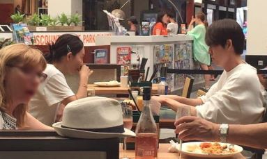 성북동에서 여전히 공개 데이트 즐긴 신민아, 김우빈