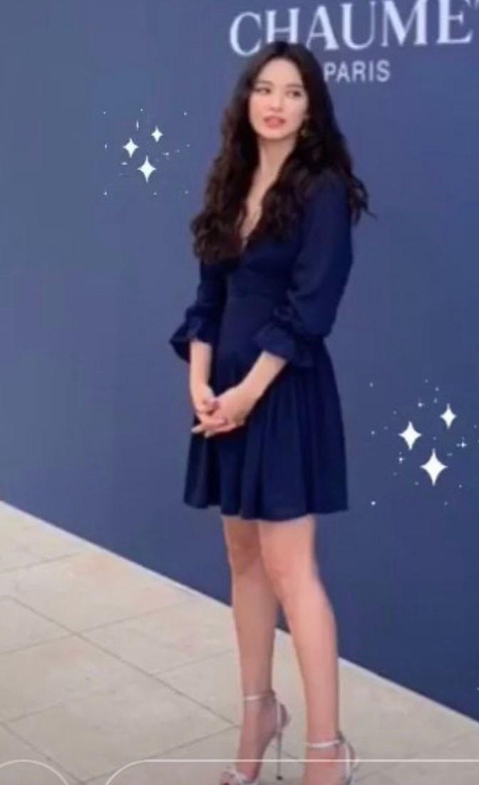 쇼메모나코 행사장에서 만난 송혜교