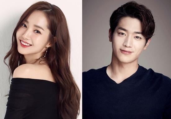 JTBC드라마 함께하는 박민영과 서강준