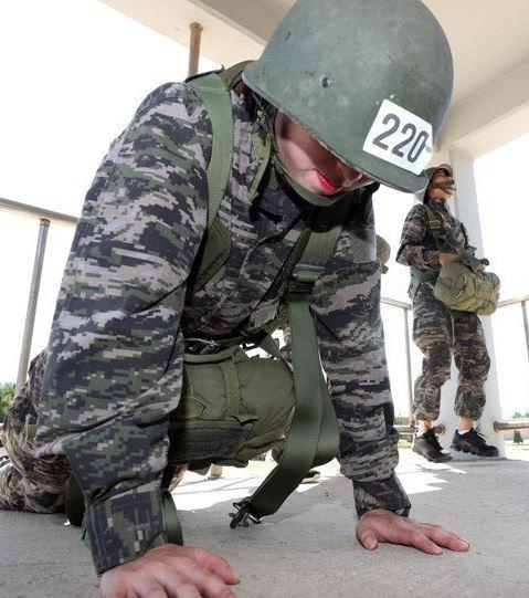 펜싱 국가대표팀이 해병대 훈련한다는데