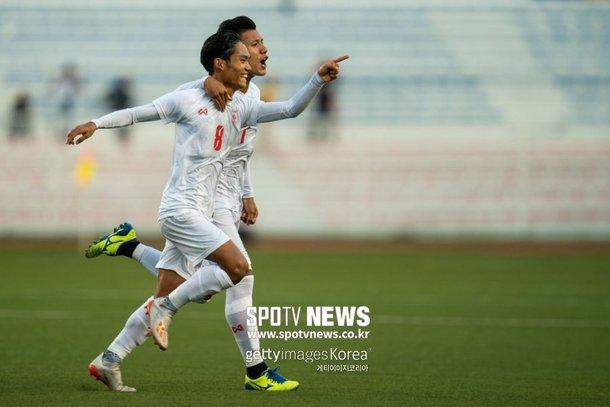 미얀마 월드컵 예선 승부조작 혐의 포착