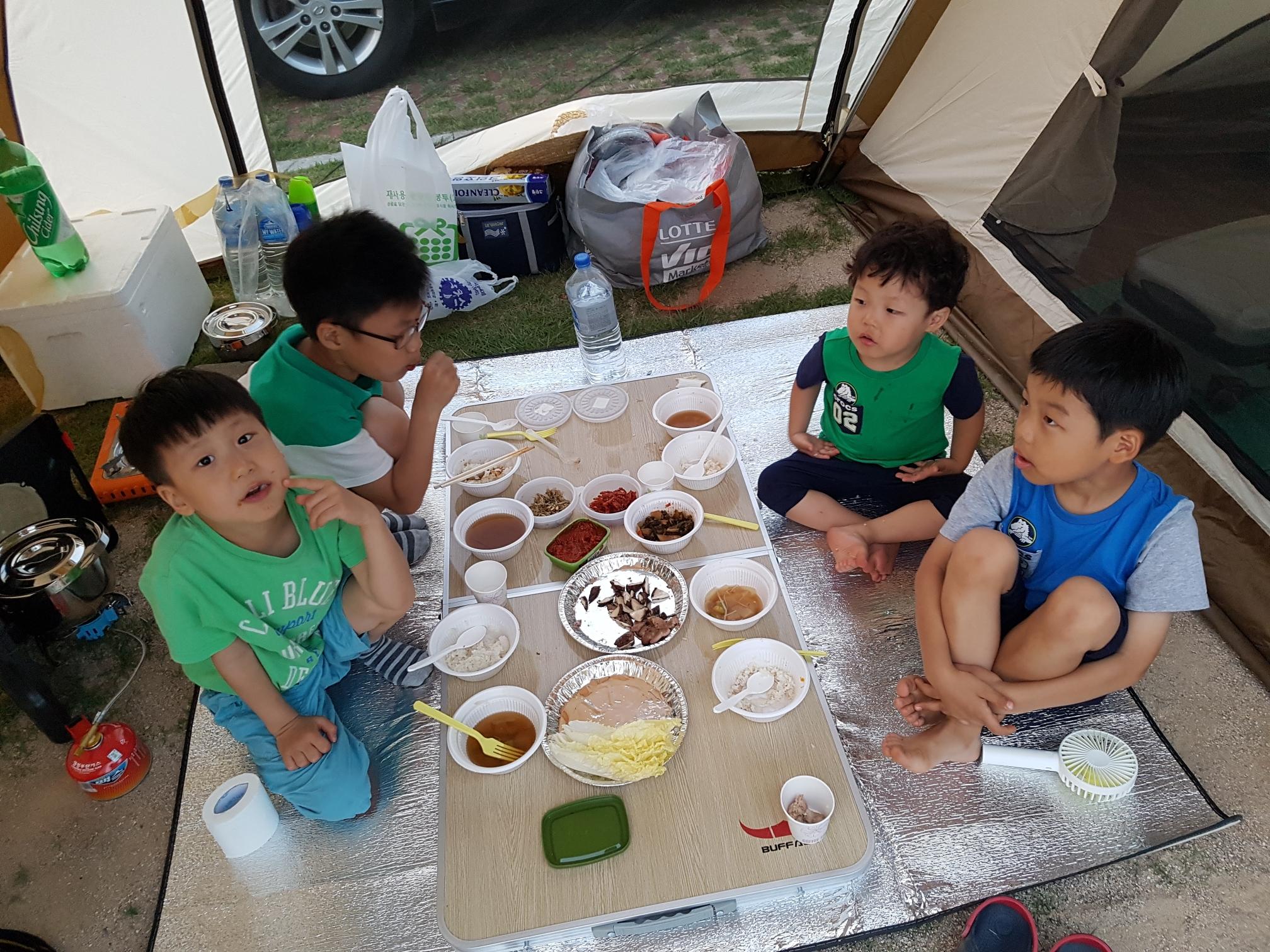 아이들과 캠핑~!!