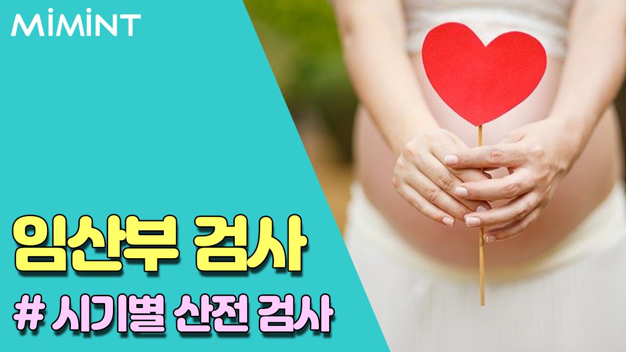 임신, 시기별 산전검사 확인해보세요!