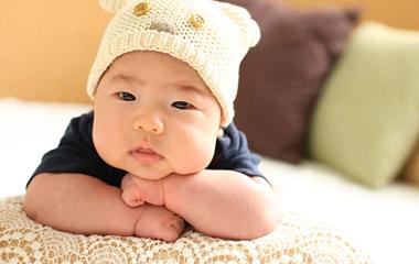 예쁘고 건강한 아기두상 만들기