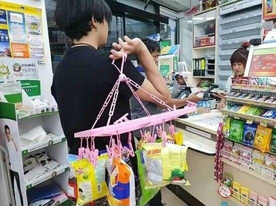 비닐봉지 금지한 태국 상황