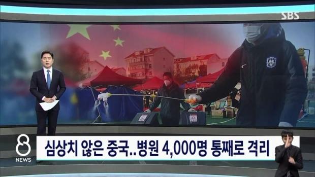 코로나 종식 선언한 중국 근황