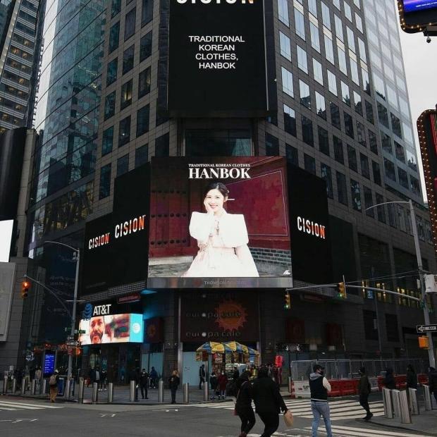 실시간 뉴욕 타임스퀘어 옥외광고판 근황....