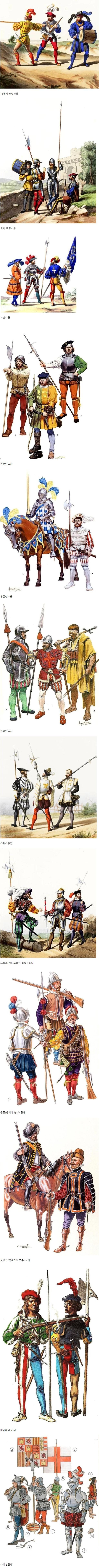 16세기 유럽 군대 패션