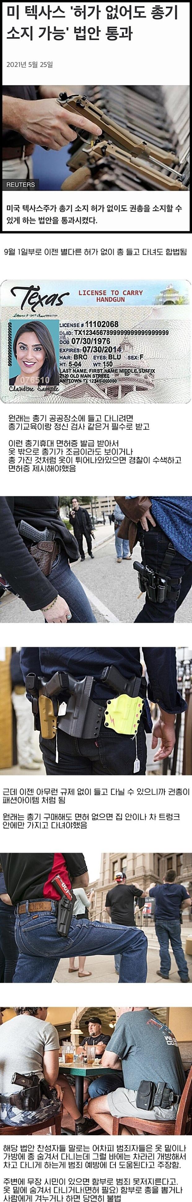 텍사스의 총기 자율화
