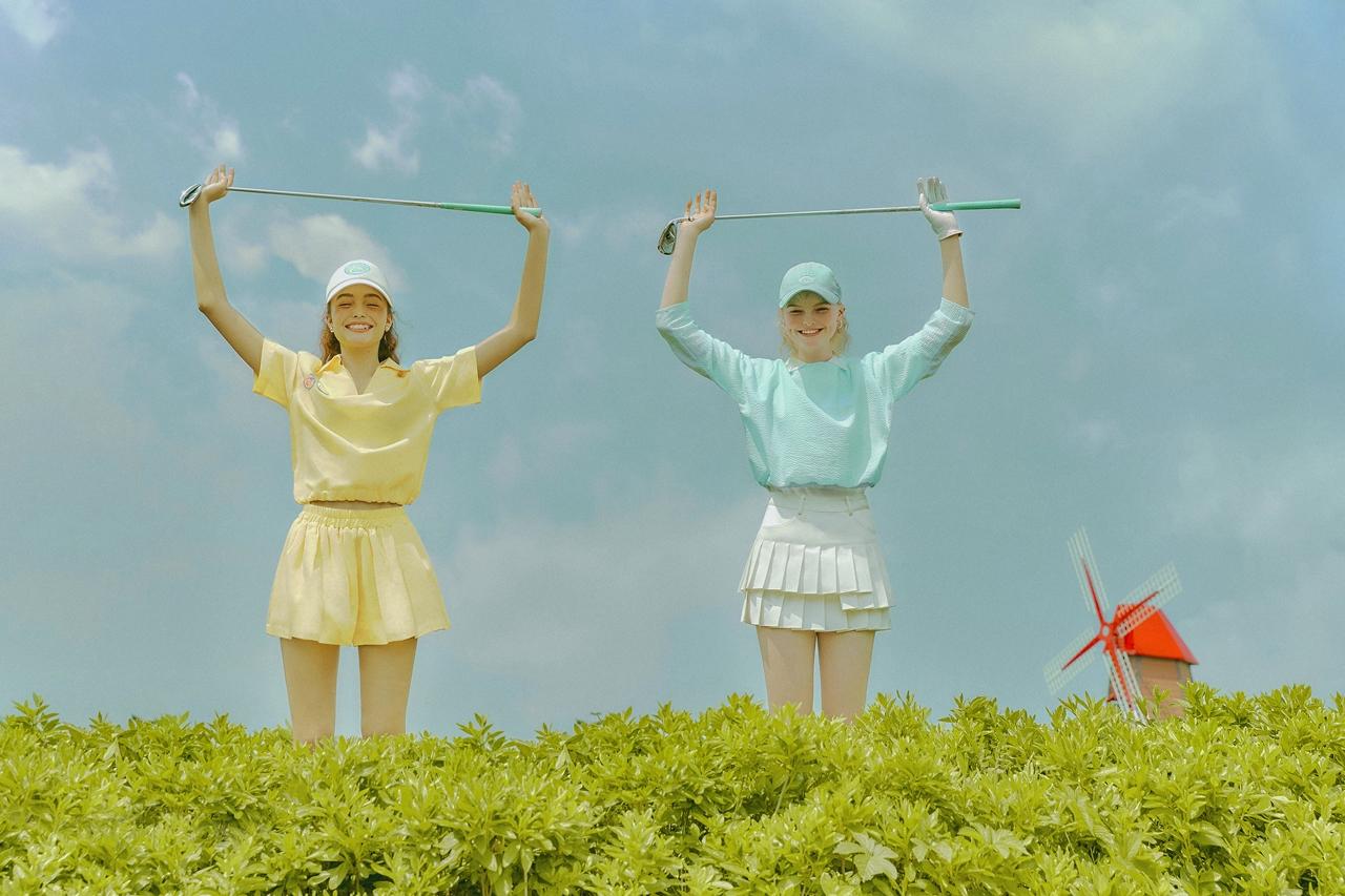 ㅎㅎ 귀여운 골프웨어