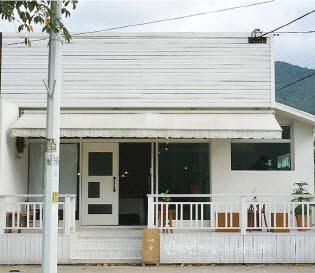 양산 카페�� : 한적한 마을의 하얀집