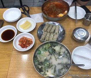 [북촌손만두 상암DMC점]피냉면과 북촌만둣국(Feat.갈비만두)