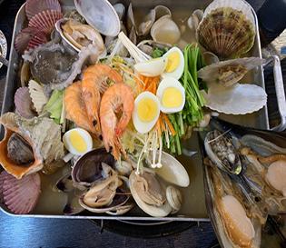 세교 맛집 해산물이 싱싱한 동해회수산 조개찜
