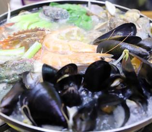 남양주맛집 북한강 두물머리 곰아줌해물칼국수