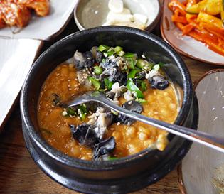 광주 쌈밥 맛집 > 진월동 뜨락 < 우렁 강된장 쌈밥