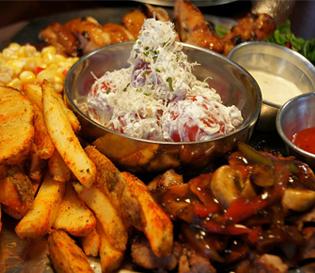 강남역 맛집 떠먹는 피자와 샐러드 파스타 맛집 - 오톤스테이션