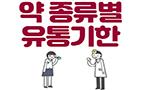 약 종류별 유통기한 알아보자!